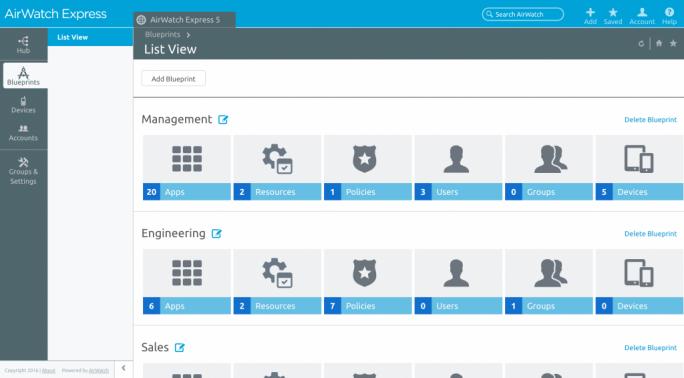 Über Wizards und Blueprints versucht VMware die Installation so weit wie möglich zu vereinfachen. (Bild: VMware)