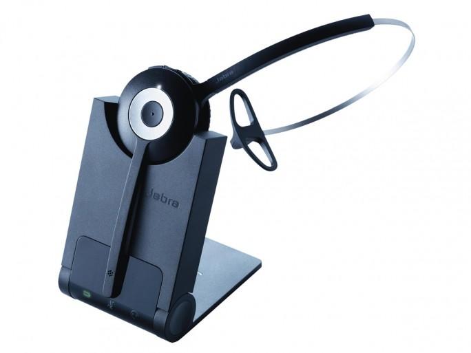 Das Jabra Pro 930 ist ein Headset zum Anschluss an PC oder Notebook. Es ist ideal als Softphone zum Skypen, aber auch für Spracherkennung geeignet. (Bild: GN Netcom)