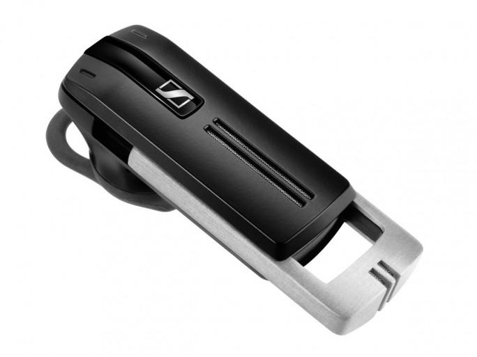 Das Bluetooth-Headset aus Sennheisers Presence-Serie ist für mobile Business-Anwender gedacht, die mit dem Smartphone viel telefonieren und ein hochwertiges, aber unauffälliges Headset suchen. (Foto: Sennheiser)