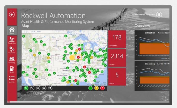 Eine Beispielanwendung für Predictive Maintenance in der Microsoft Azure IoT Suite. (Bild: Microsoft)