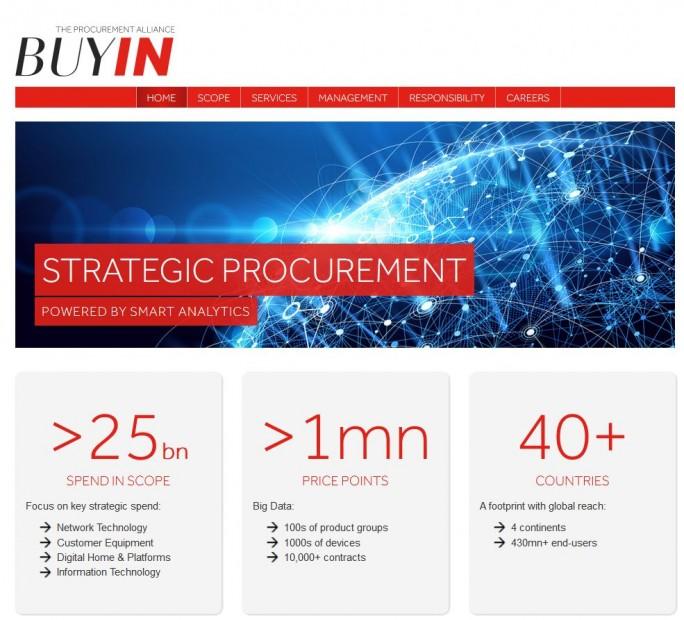 Buyin, ein Joint Venture von Orange und der Deutschen Telekom, verwaltet ein Einkaufsvolumen von rund 25 Milliarden Euro (Screenshot: silicon.de)