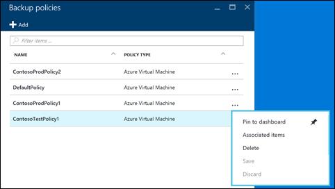 Microsoft vereinfacht die Verwaltung von Backup-Policies in Azure. (Bild: Microsoft)