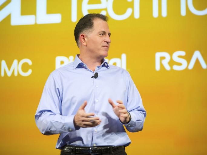 Michael Dell will mit dem neuen Unternehmen Dell Technologies Synergieeffekte erreichen und ohne den Druck der Börse den Unternehmensumbau vorantreiben. Nach der Übernahme werden jetzt wohl bis zu 3000 Mitarbeiter das Unternehmen verlassen müssen. (Bild : Dell Technologies)