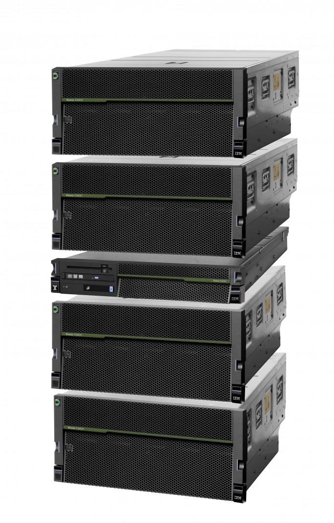 Der Power System Server E8804C ermöglicht eine zentralisierte Verwaltung für hybride Umgebungen. (Bild: IBM)