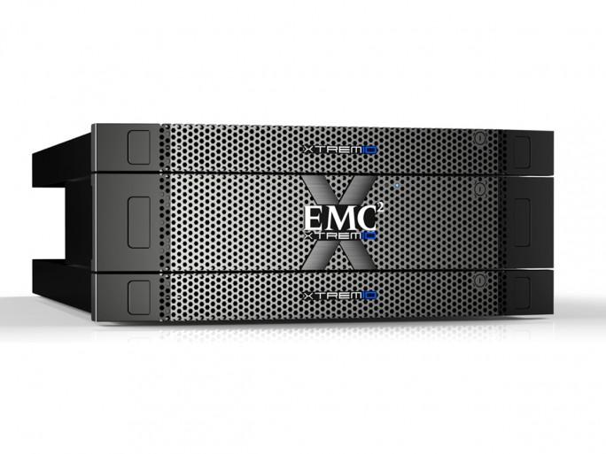Wenige Tage vor Abschluss der Übernahme duirch Dell hat EMC die die Software der Storage-Appliances der Reihe XtremIO noch einmal aktualisiert. (Bild: EMC)