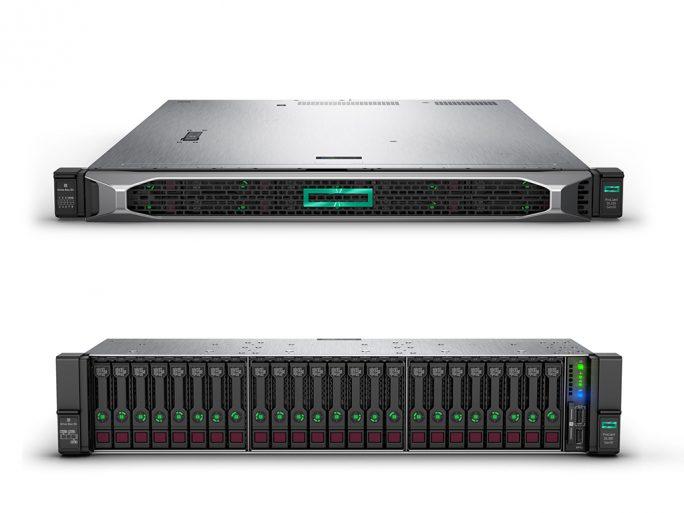 HPE DL325 und DL385 mit EPYC 2 (Bild: HPE)