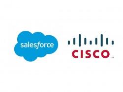 Salesforce und Cisco kooperieren (Grafik: silicon.de)