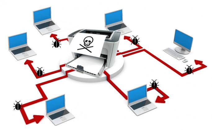 Selbst Drucker, die nicht existieren sind für Netzwerke ein erhebliches Sicherheitsrisiko, warnt Gérard Bauer von Vectra Networks. (Bild: Vectra Networks)