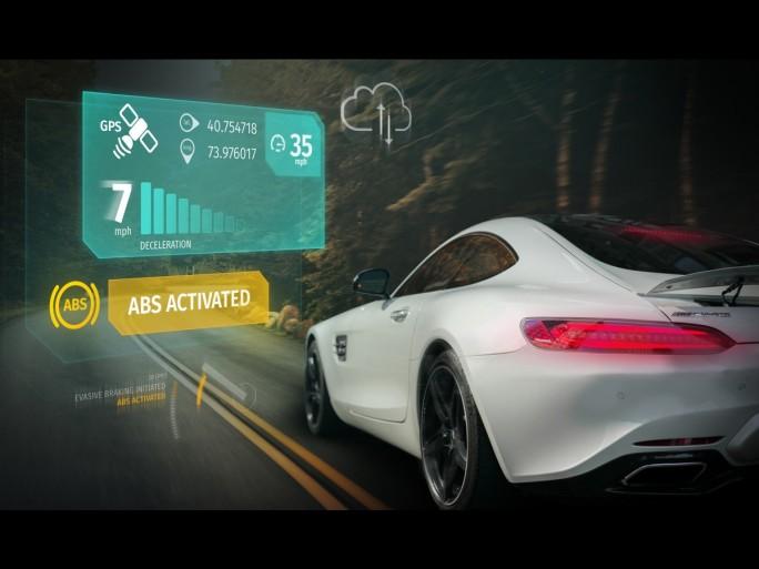 Here sammelt über eine Kamera in Fahrzeugen von Audi. BMW und Daimler erfasste Umgebungsdaten ab 2017 in seiner Open Location Platform, aus der sie dann andere Fahrzeuge abrufen können.  (Bild: Here)