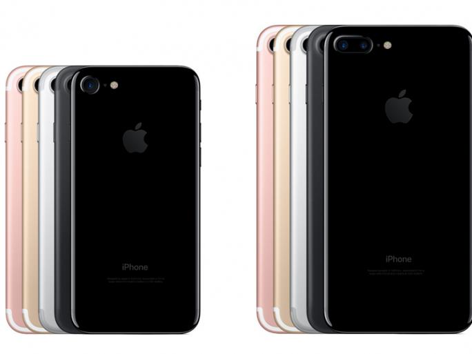 iPhone 7 und iPhone 7 Plus bieten Schwarz sowie das glänzende Diamantschwarz als neue Gehäusefarben. (Bild: Apple)