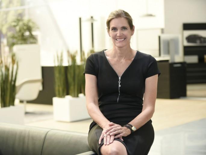 Von der Literaturwissenschaft zur IT-Expertin: Ilka Bewerunge, Projektleiterin beim Autobauer Audi. (Foto: Audi)