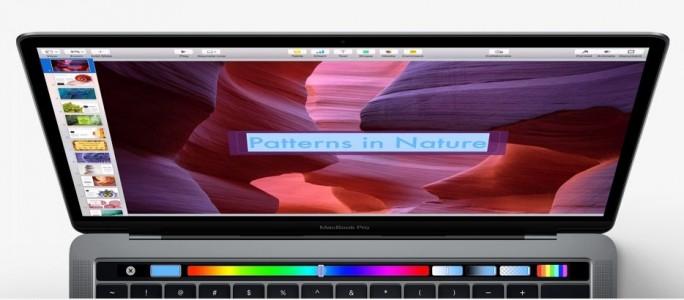 Die Touch Bar lässt sich mit Anwendungen von Apple ebenso nutzen, wie mit Programmen von Drittherstellern (Bild: Apple)
