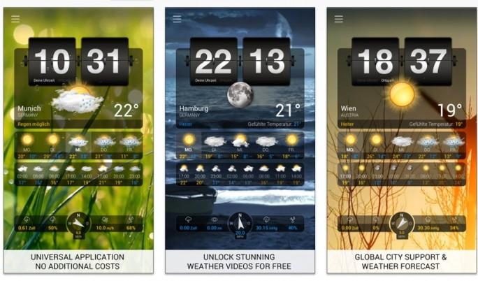 Wetter+ (Screenshot: Mehmet Toprak)