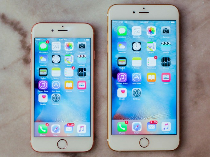 iPhone 6S und iPhone 6S Plus  (Bild: CNET.com)