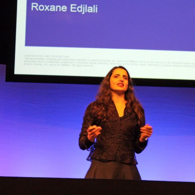 Roxane Edjlali, Analystin bei Gartner, misst dem Thema Metadaten im Data Lake größte Bedeutung zu. (Bild: Martin Schindler)