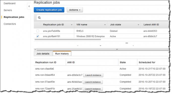Für jede Replikation wird ein neues Image abgelegt. Damit können Anwender die neuen Services auch testen. (Bild: AWS)