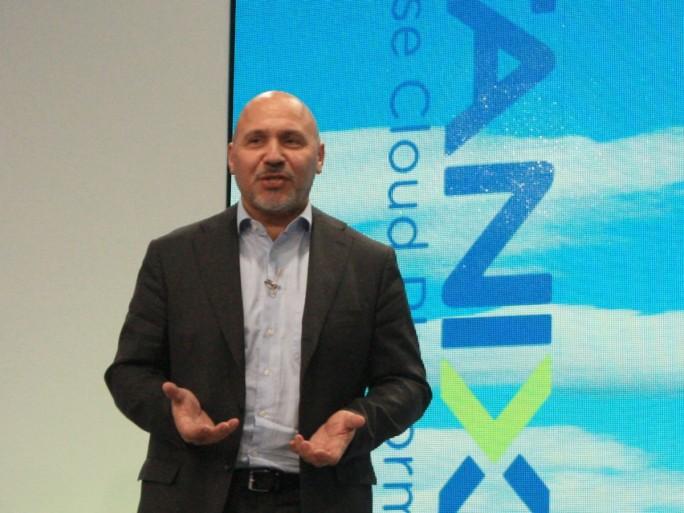 Durch seinen Auftritt auf der Nutanix-Kundenkonferenz Next in Wien unterstrich Günther Brand, Vizepräsident von Arista Networks, die hohe Bedeutung der neuen Partnerschaft für beide Unternehmen (Bild: ZDNet.de)