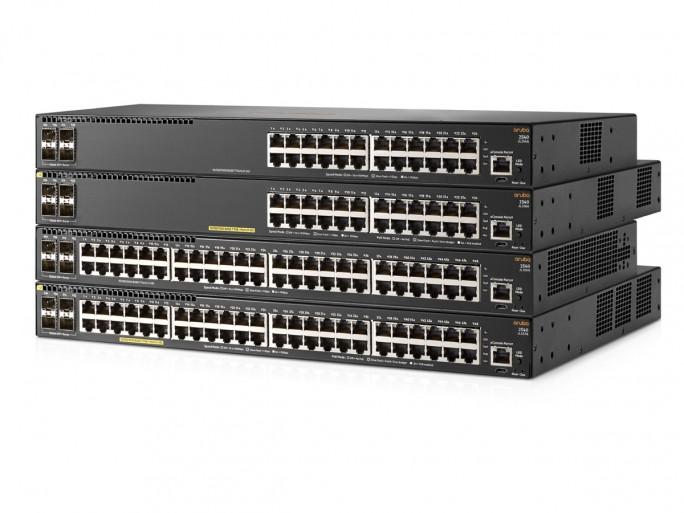 """Die jetzt vorgestellte Switch-Serie Aruba 2540 ist ein weiterer Baustein des """"Intelligent Edge""""-Konzepts von HPE im Bereich IoT (Bild; HPE)"""