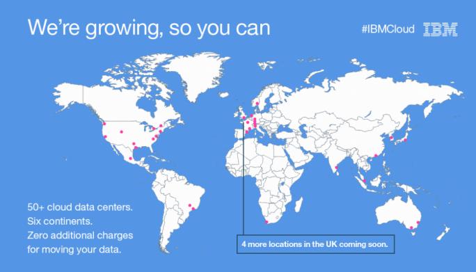 IBM plant weitere Bluemix-Rechenzentren in Europa. (Bild: IBM)