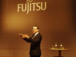 Duncan Tait, Head of EMEIA and Americas, auf dem Fujitsu Forum 2016 in München (Bild: Mehmet Toprak)