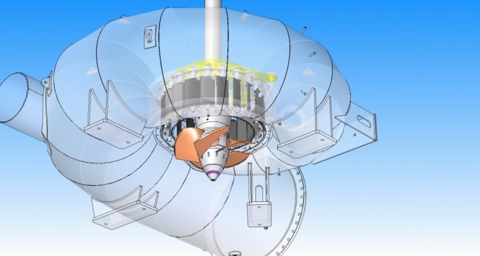 Die italienische Zeco hat das Design der eignen Turbinen über den Fortissimo-Marktplatz an die Dienstleister EnginSoft, ANSYS und CINECA ausgelagert. (Bild: Fortissimo)