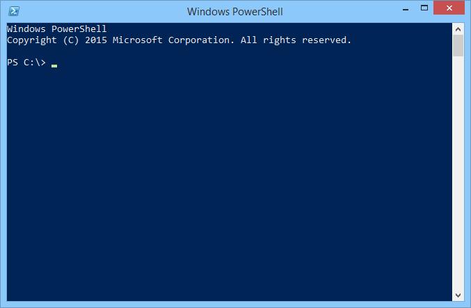 Microsoft PowerShell Version 5.0 soll künftig die Kommandozeileneingabe in Windows 10 werden. (Bild: Micorosft)