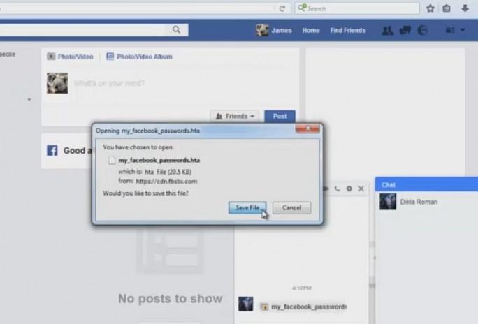 Der Sündenfall: Wer hier auf Download klickt hat schon fast verloren (Screenshot: silicon.de bei Youtube)