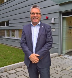 Thor Edquist, Bürgermeister von Halden, möchte mit intelligenten Lösungen die Krankenversorgung in seiner Gemeinde billiger und besser machen (Bild: Rüdiger)