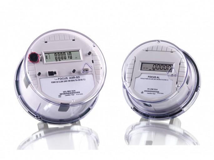 Smart Meter, hier zum Beispiel Modelle des Herstellers Landis+Gyr, erfassen die Daten, die dann ausgewertet und zur besseren Steuerung der Stromerzeugung herangezogen werden (Bild: Landis+Gyr)