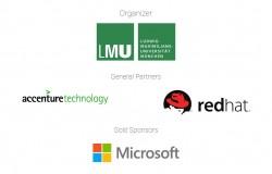 Für OpenMunich hat die LMU als Partner Accenture, Red Hat und Microft gewinnen können (Screenshot: silicon.de)