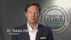 """Nach Auffassung von Tobias Höllwarth (EuroCloud Austria) können Firmen mit dem Cloud Privacy Check """"tausende Euro sparen"""" (Screenshot: silicon.de)"""