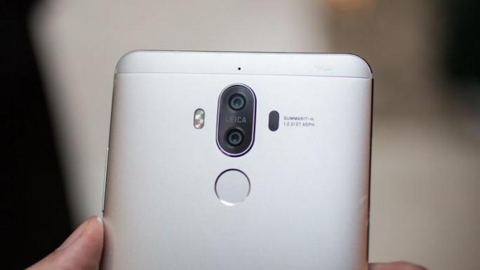 Dual-Kamera des Huawei Mate 9 (Bild: CNET.com)