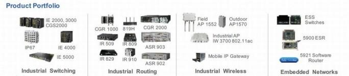 Besonders umfangreich ist Ciscos Portfolios im Bereich Connectivity (Bild: Cisco)