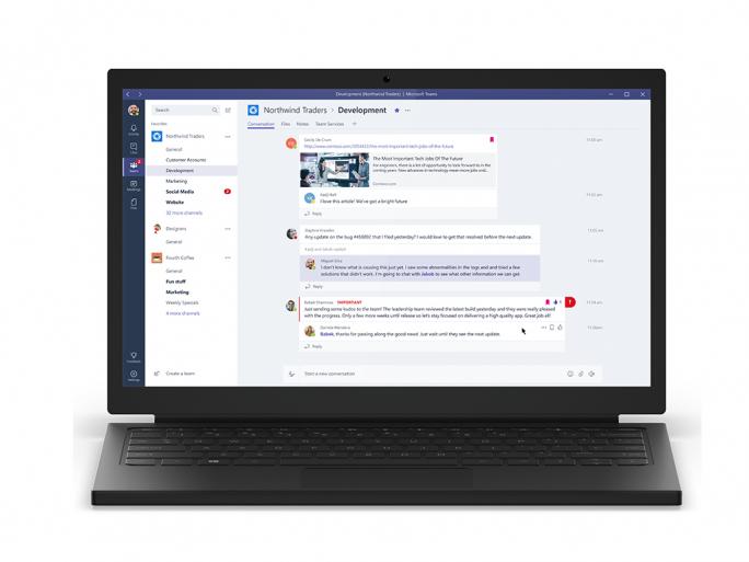 Ab sofort können Business- und Enterprise-Abonnenten von Office 365 die Preview von Microsoft Teams  nutzen (Bild: Microsoft).