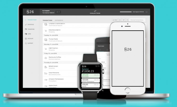 Sicherheitsforscher werfen Fin-Tech-Start-ups wie N26 vor, sich zu sehr auf Design und Funktionen zu konzentrieren (Screenshot: silicon.de)