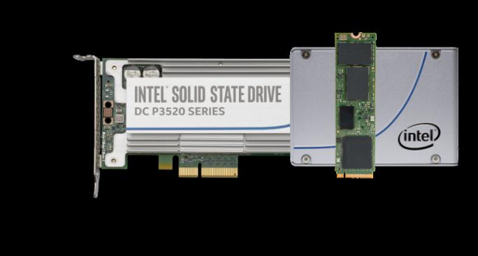 SSDs mit 3D-NAND hat Intel im Sommer vorgestellt (Bild: Intel