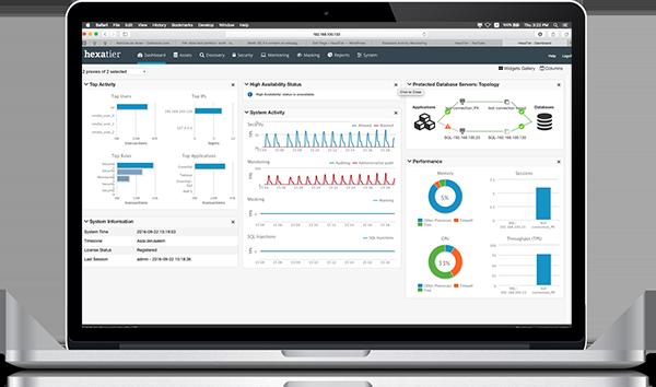 Die Lösung von HexaTier erlaubt Monitoring, granulare Nutzerverwaltung und eine selbstlernende Policy-Engine. (Bild: HexaTier)