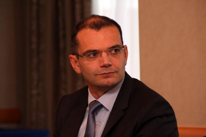"""Sandro Lindner, Geschäftsführer Unisys Deutschland: """"Jedes große Unternehmen hat pro Jahr im Schnitt einen Security-Incident und der kommt auch definitiv beim Vorstand an."""" (Bild: M. Schindler)"""