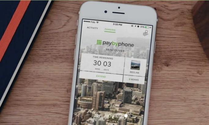 PaybyPhone (Screenshot: silicon.de)