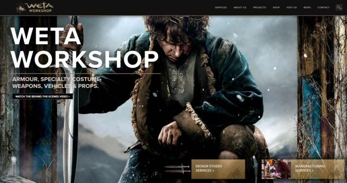 Weta Workshop macht nicht nur Spezialeffekte für tolle Kinofilme, sondern offenbar auch für Imagekampagnen von Start-ups (Screenshot: silicon.de)