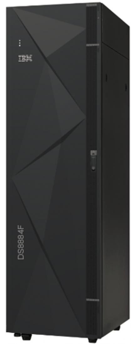 """""""Einsteiger-System"""" DS8884 eignet sich für traditionelle Anwendungen wie ERP oder Datenbanktransaktionen. (Bild: IBM)"""