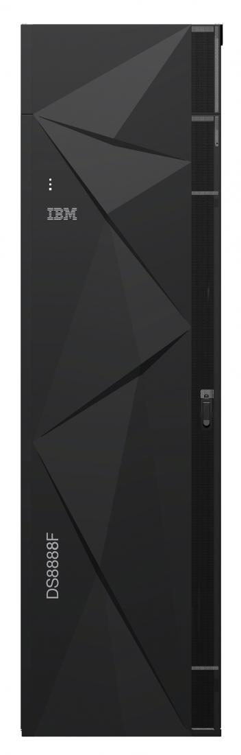 Mit dem DS8888F liefert IBM ein System, das selbst den höchsten Anforderungen gerecht wird. Das System skalierb auf bis zu 1,22 Petabyte. (Bild: IBM)