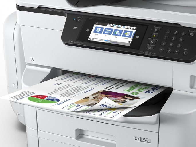 WorkForce Pro WF-C869RDTWF (Bild: Epson)