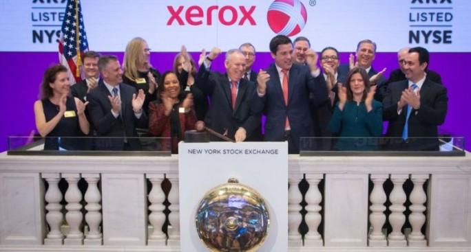 Xerox NYSE Januar 2017 (Bild: Xerox)