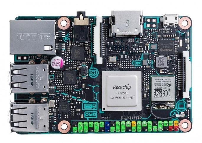 Die Stromversorgung des Mini-Computers kommt über ein Micro-USB-Anschluss mit 5V/ 2A. (Bild: Farnell)