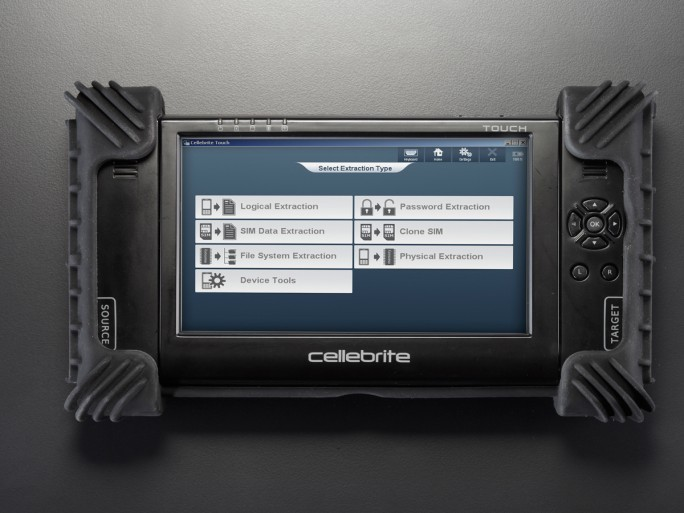 Universal Forensics Extraction Device - UFED (Bild: Cellebrite)