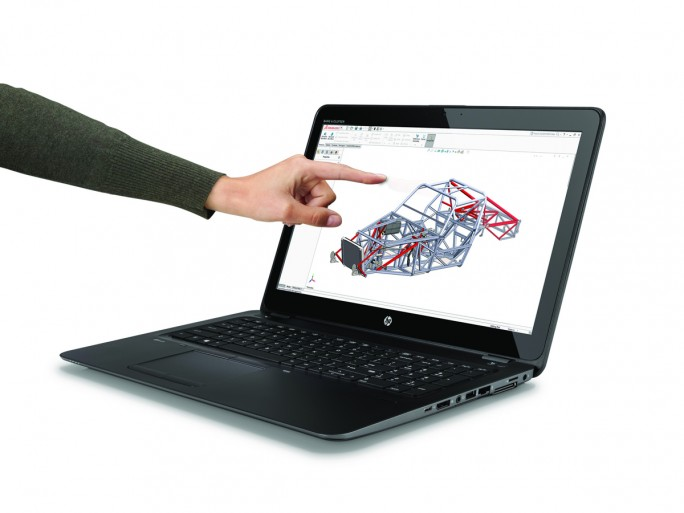 HP ZBook 15u 4G Touch (Bild: HP Inc.)