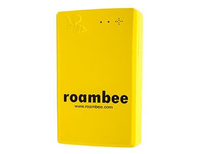 So sieht eine 'Biene' aus. Das Unternehmen Roambee kombiniert Daten aus diesen Sensoren und Informationen aus anderen Systemen und liefert damit ein Echtzeittracking mit dem sich beispielsweise der Versand von Medizin-Produkten verfolgen lässt. (Bild: Roambee)