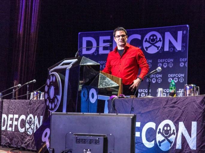 Ladar Levison auf der DefCon2014. (Bild: Seth Rosenblatt/CNET)