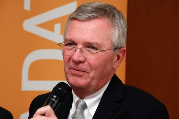 Michael ten Hompel, Professor für Förder- und Lagerwesen, Universität Dortmund und Leiter der Fraunhofer-Institute IML und ISST. (Bild: Martin Schindler)